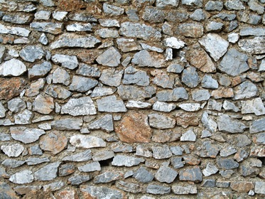 Flat Stone Texture Background Wall