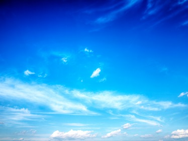 Blue Sky Clouds Background