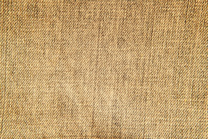 Yellow Brown Canvas Macro Texture Background