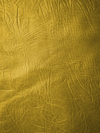 Yellow Embossed Leather Texture Portrait