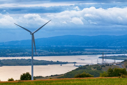 Green Power Wind Electricity