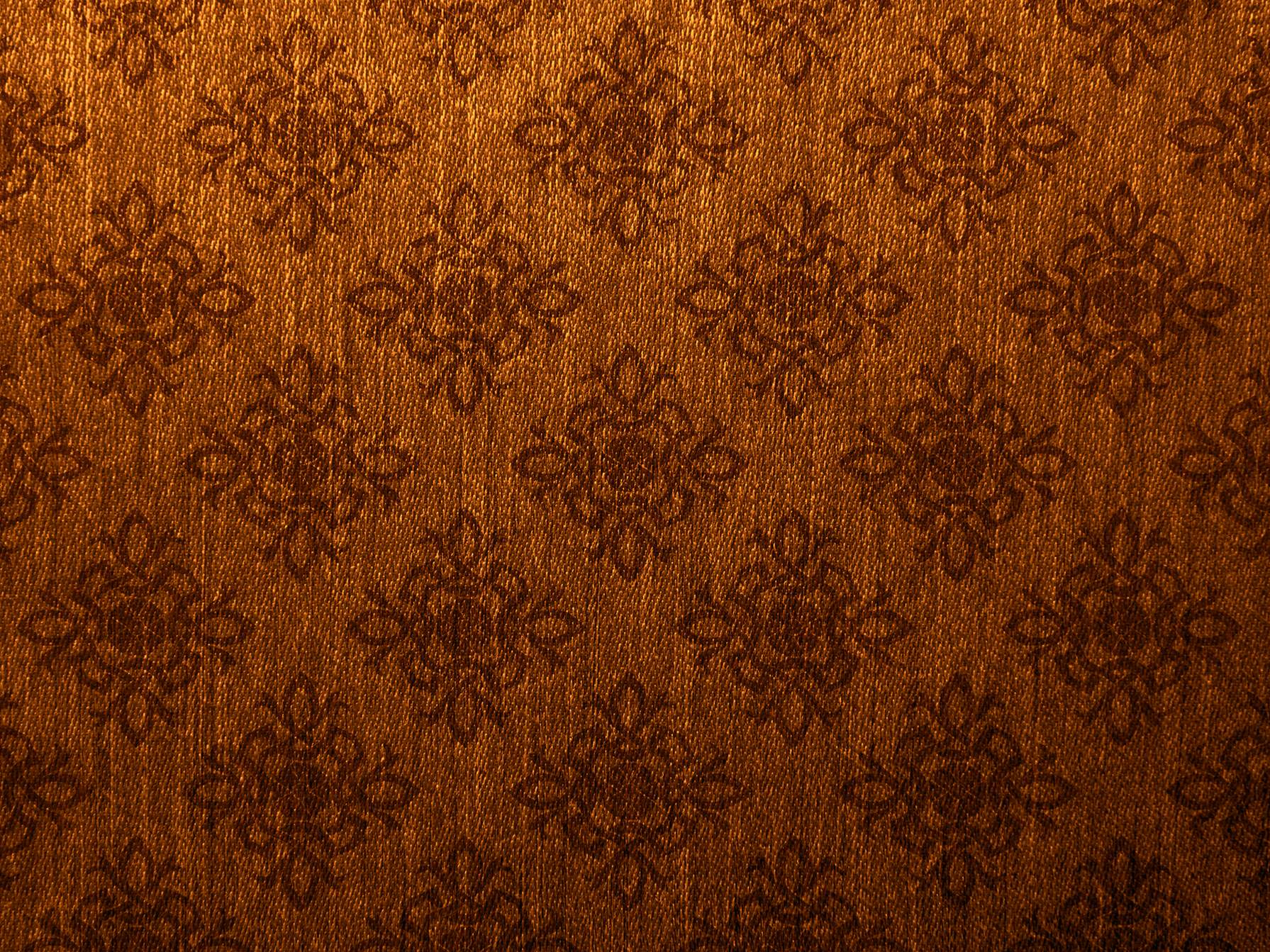 Damask Vintage Brown Gold Canvas Texture Background Photohdx