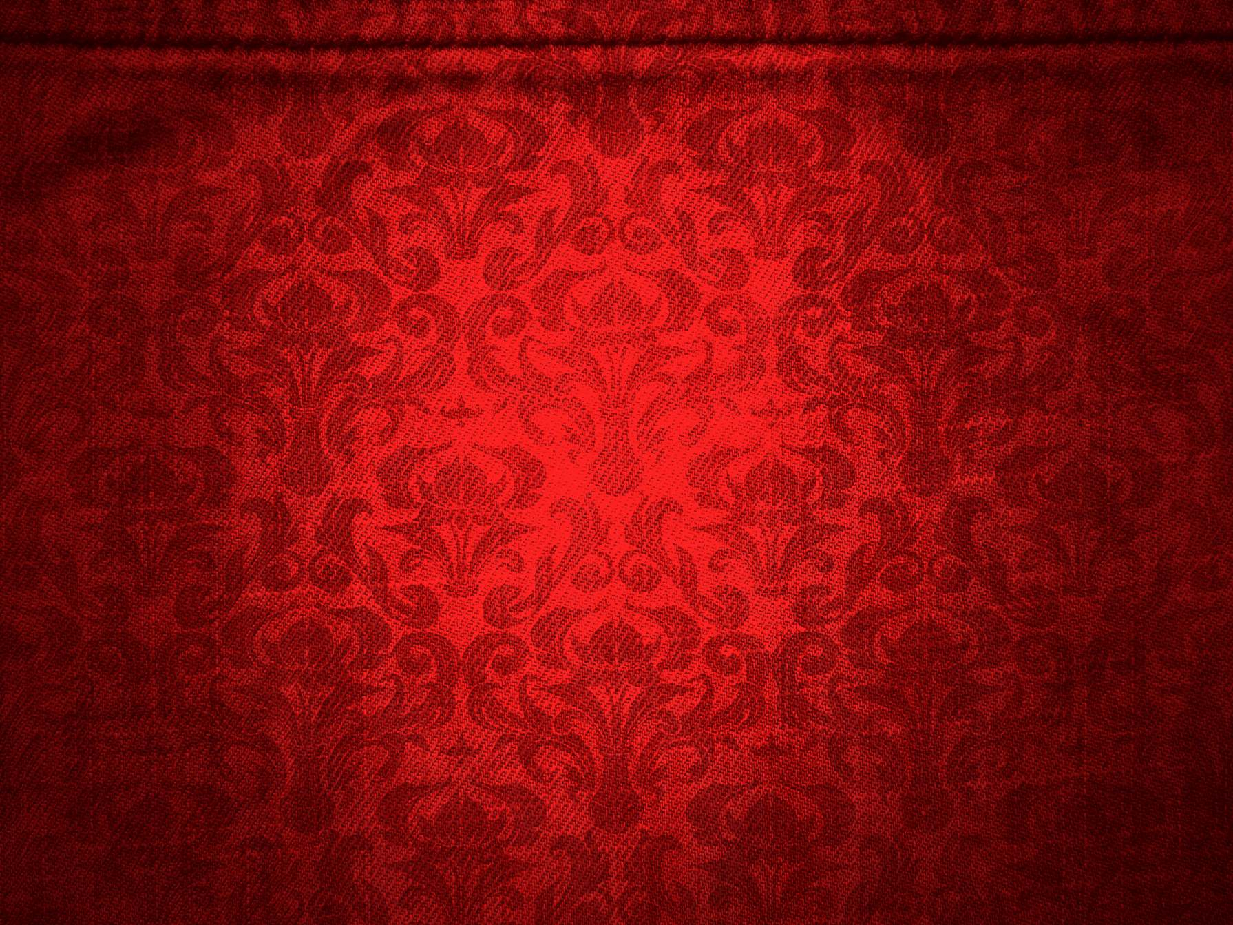 Red Canvas With Damask Pattern Background - PhotoHDX
