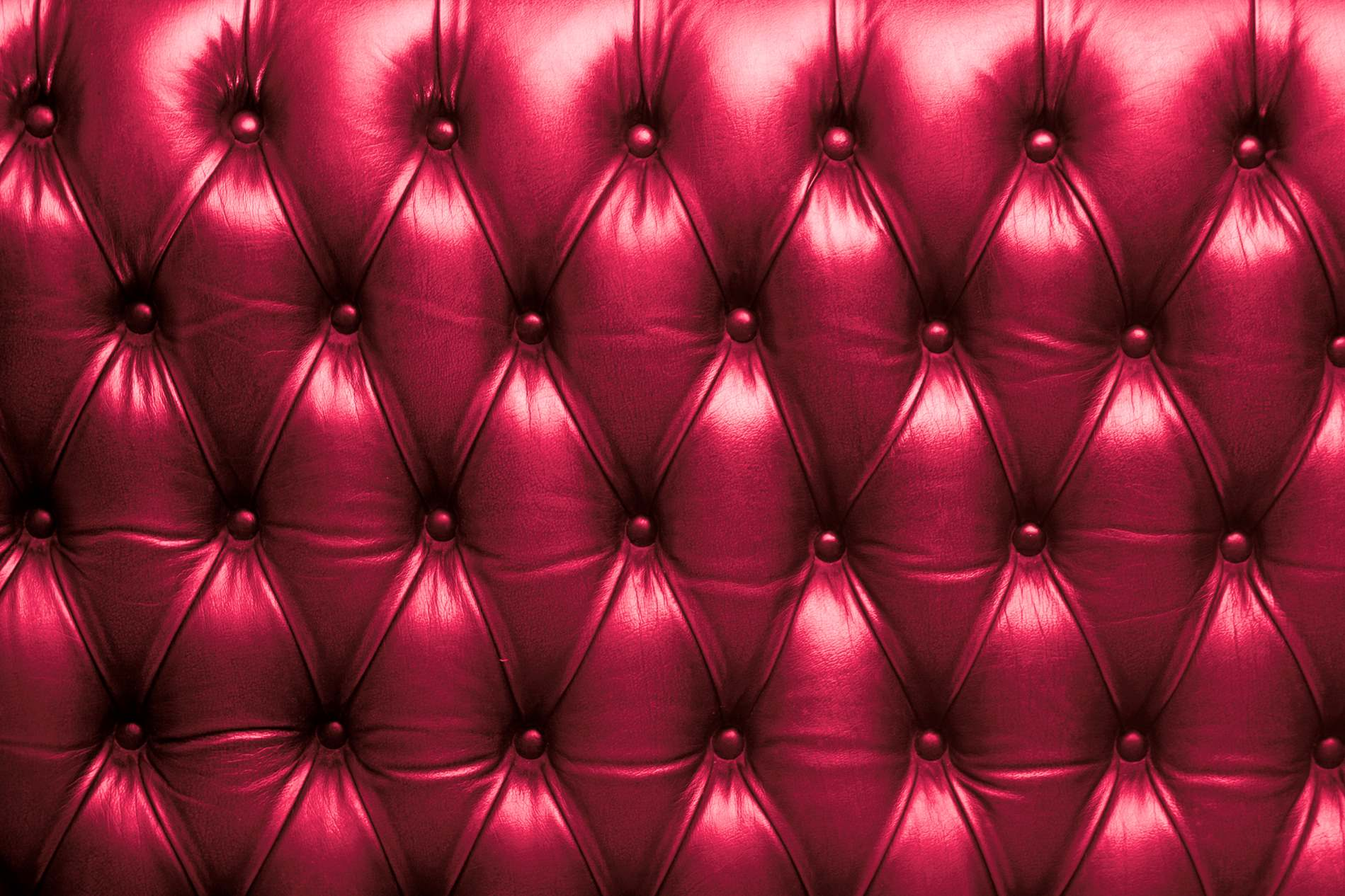 Red Leather Couch - PhotoHDX