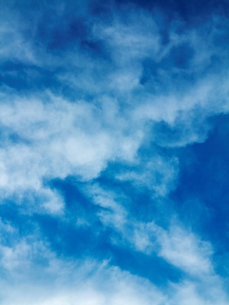Blue Sky Clouds Texture Background