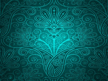 Damask Green Backdrop Texture