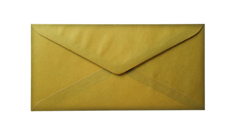 Old Yellow Envelope Paper Background Layer