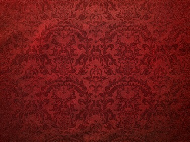 Dark Red Wall Damask B...
