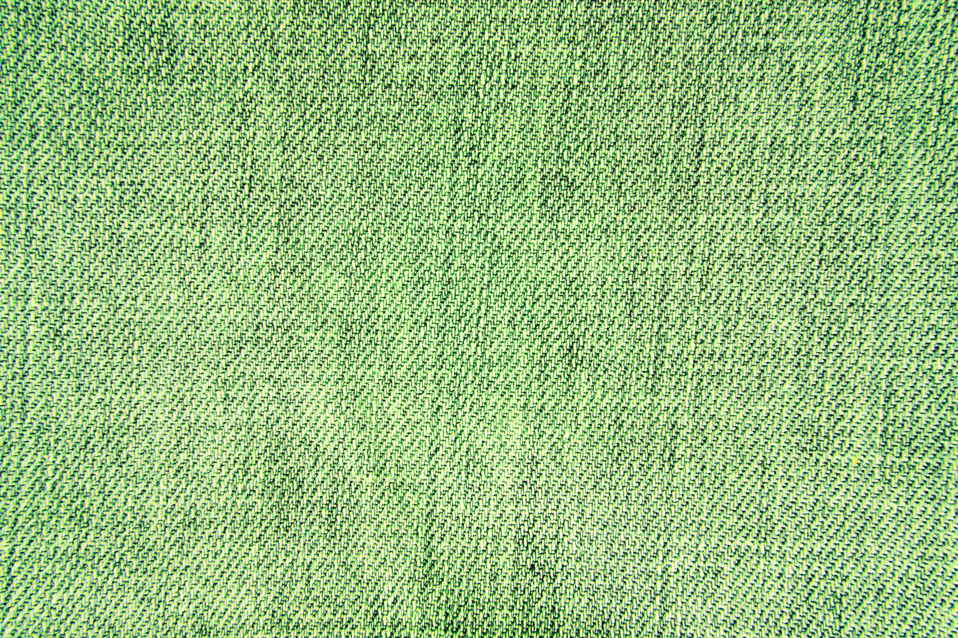 Green Vintage Fabric Texture Background