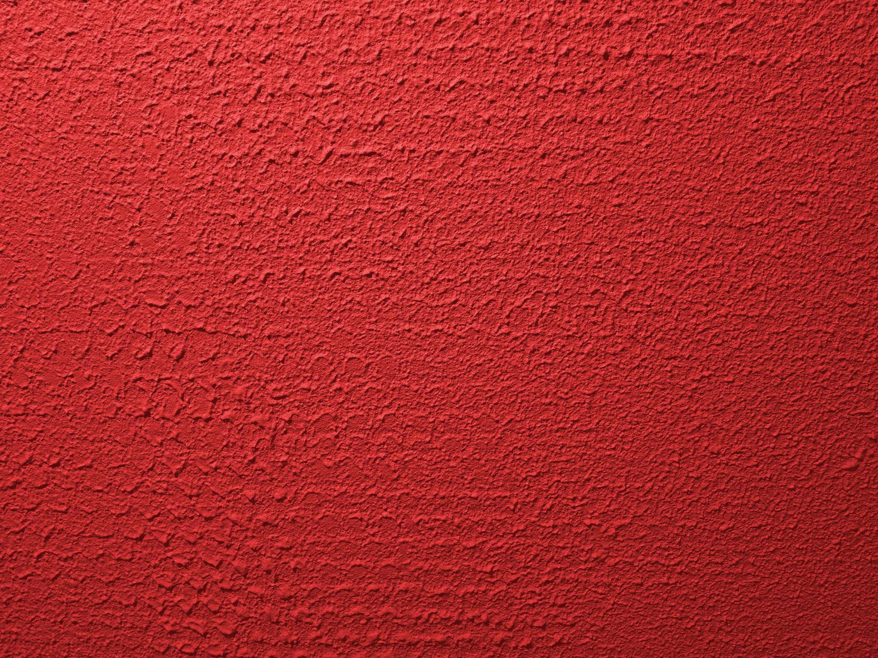 Red Concrete Wall Text...