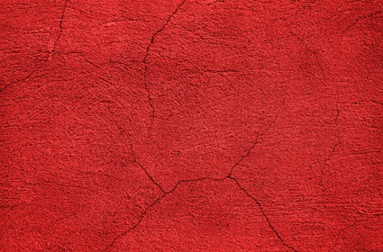 Red Cracked Wall Texture
