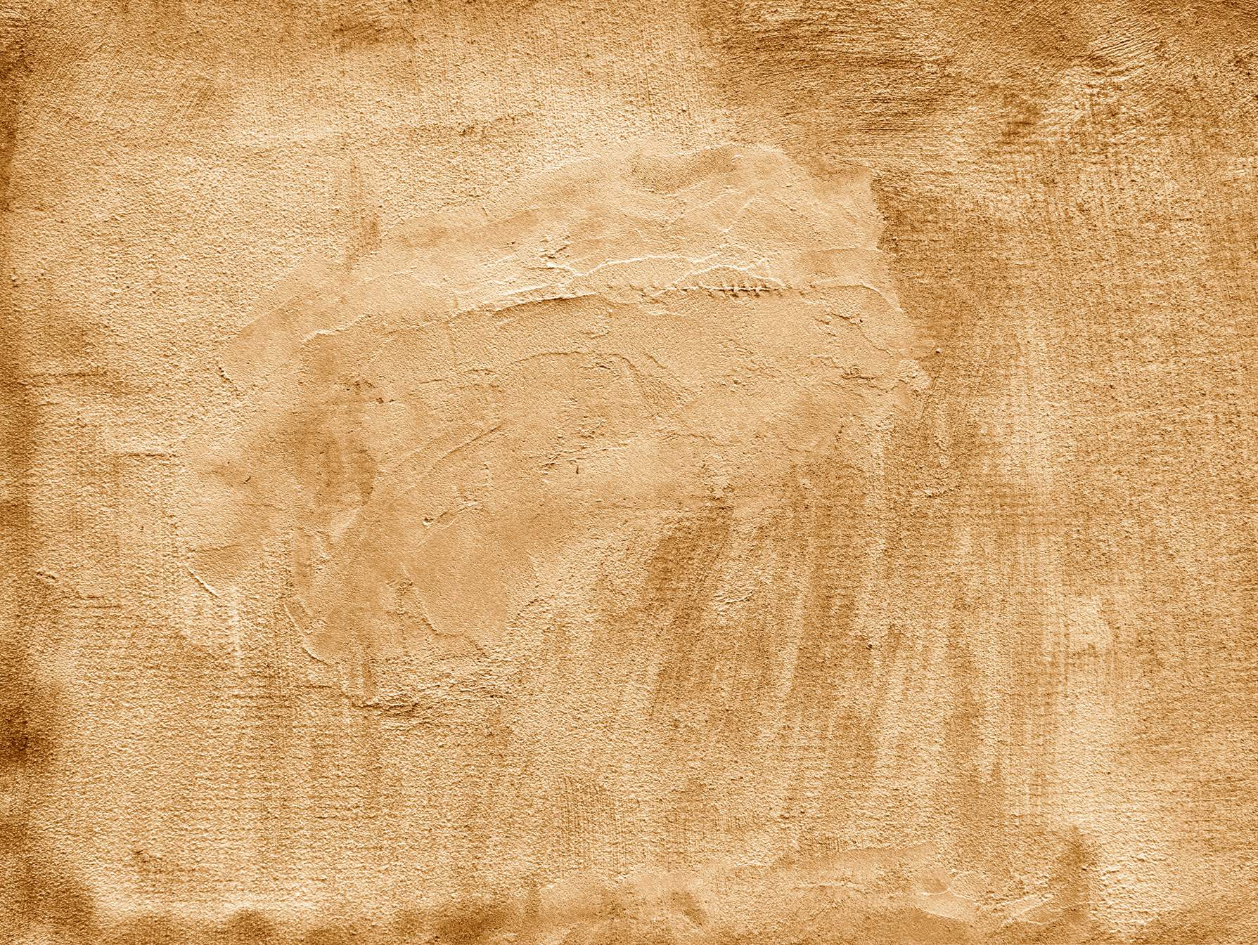 Yellow Brown Vintage Concrete Wall Background Texture ...