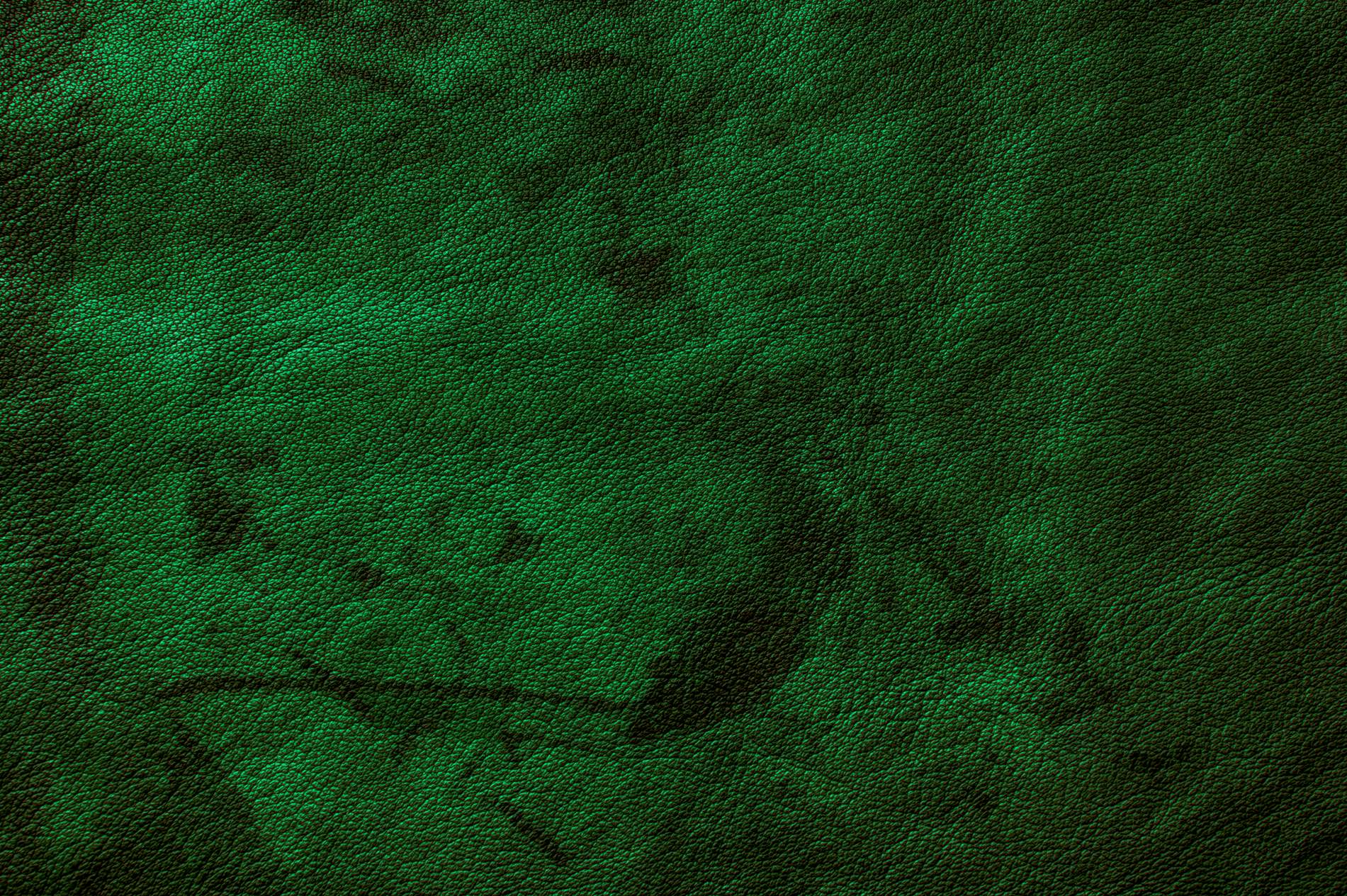 Green Grunge Leather Texture Background - PhotoHDX
