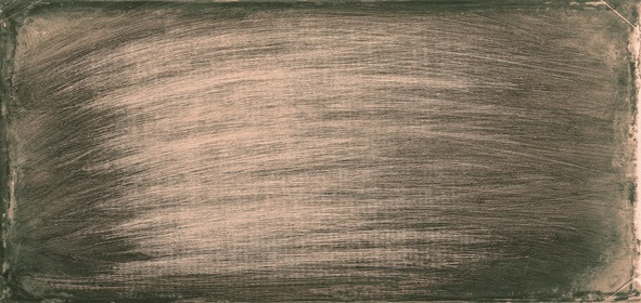 Grey Old Scratched Wall Background Horizontal Panorama