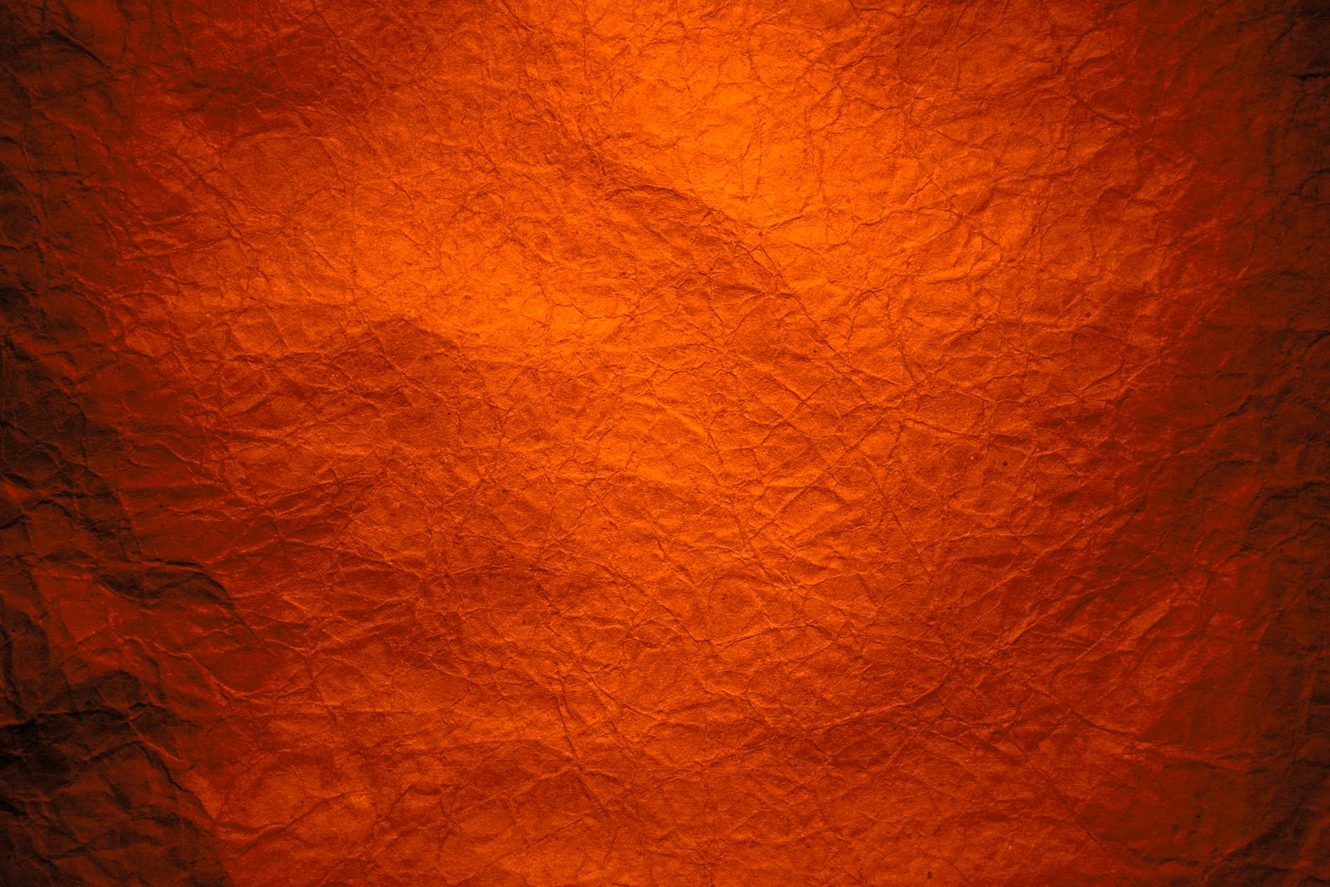 Red Orange Wrinkled Texture Background