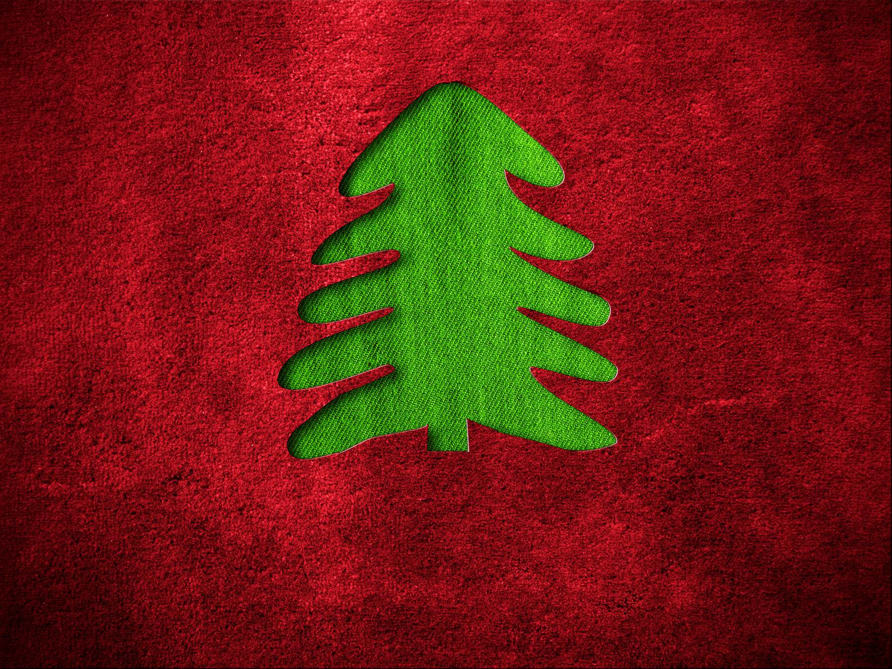 red christmas tree background - photo #31