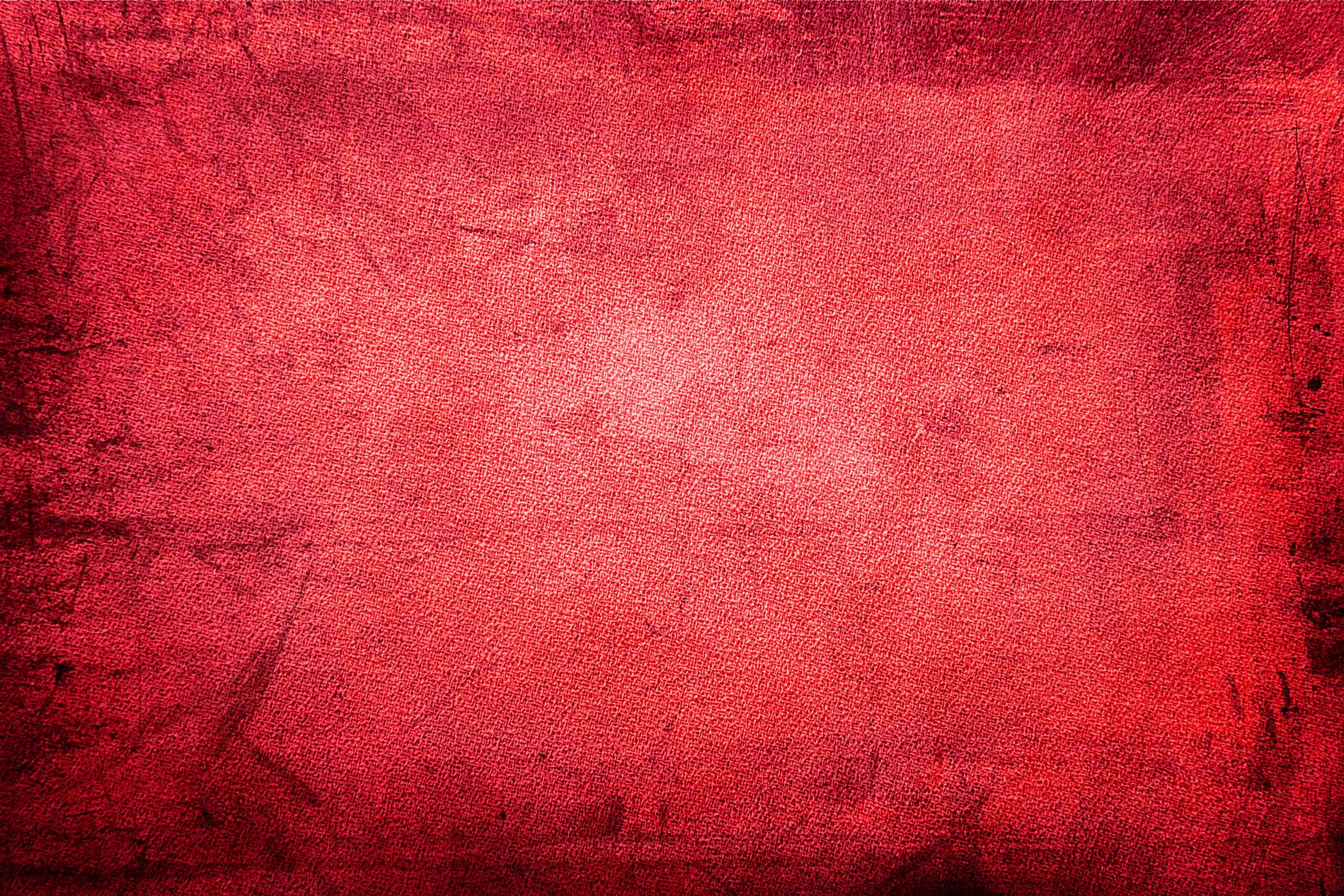 Red Grunge Fabric Texture Background