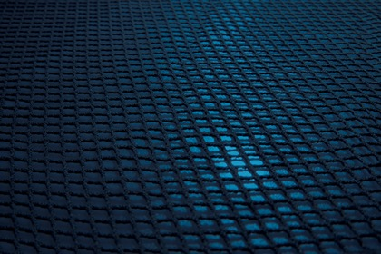 Blue Fabric Grille Texture