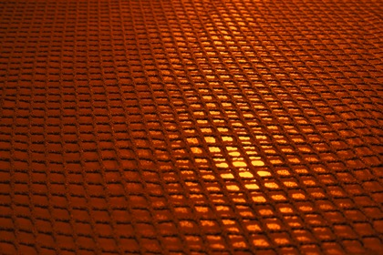 Gold Fabric Grille Texture