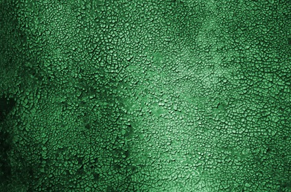 Dark Green Shaky Paint Macro Texture Background