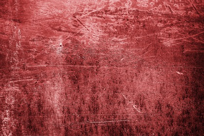 Grunge Red Scratched Background