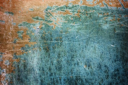 Grungy Scratched Texture Blue