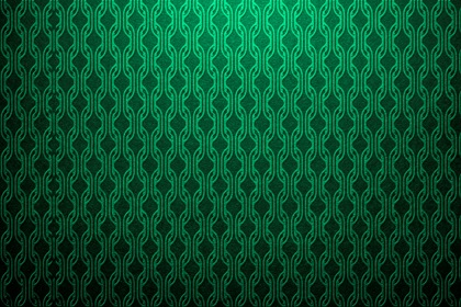 Marine Green Futuristic Pattern Background