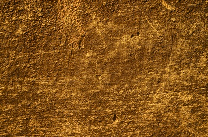 Old Yellow Scratched Wall Texture