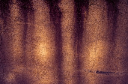 Dark Purple Yellow Grungy Wall Texture Background