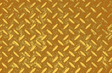 Yellow Brown Pattern Background
