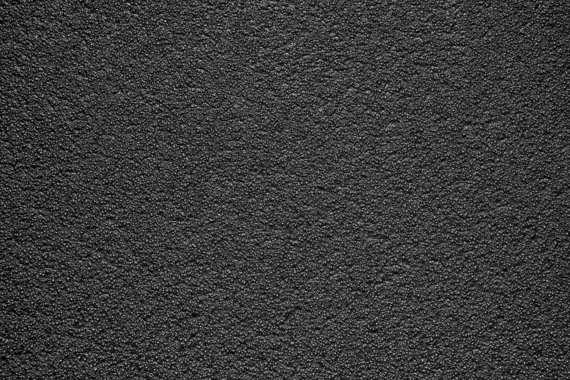 Clean Black Granite Foam Texture