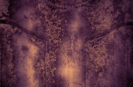 Old Purple Grungy Wall Texture