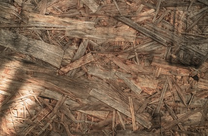 Pieces Of Pressed Wood Texture Background