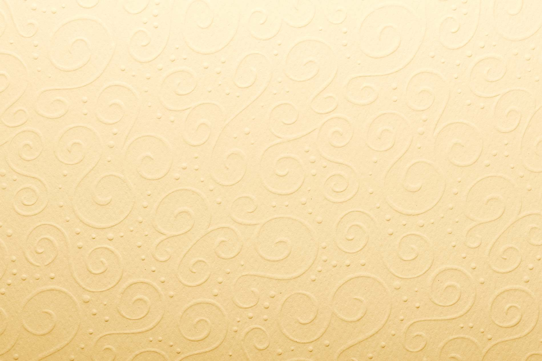 Yellow Vintage Paper Texture With Twirl Embossed Design ...
