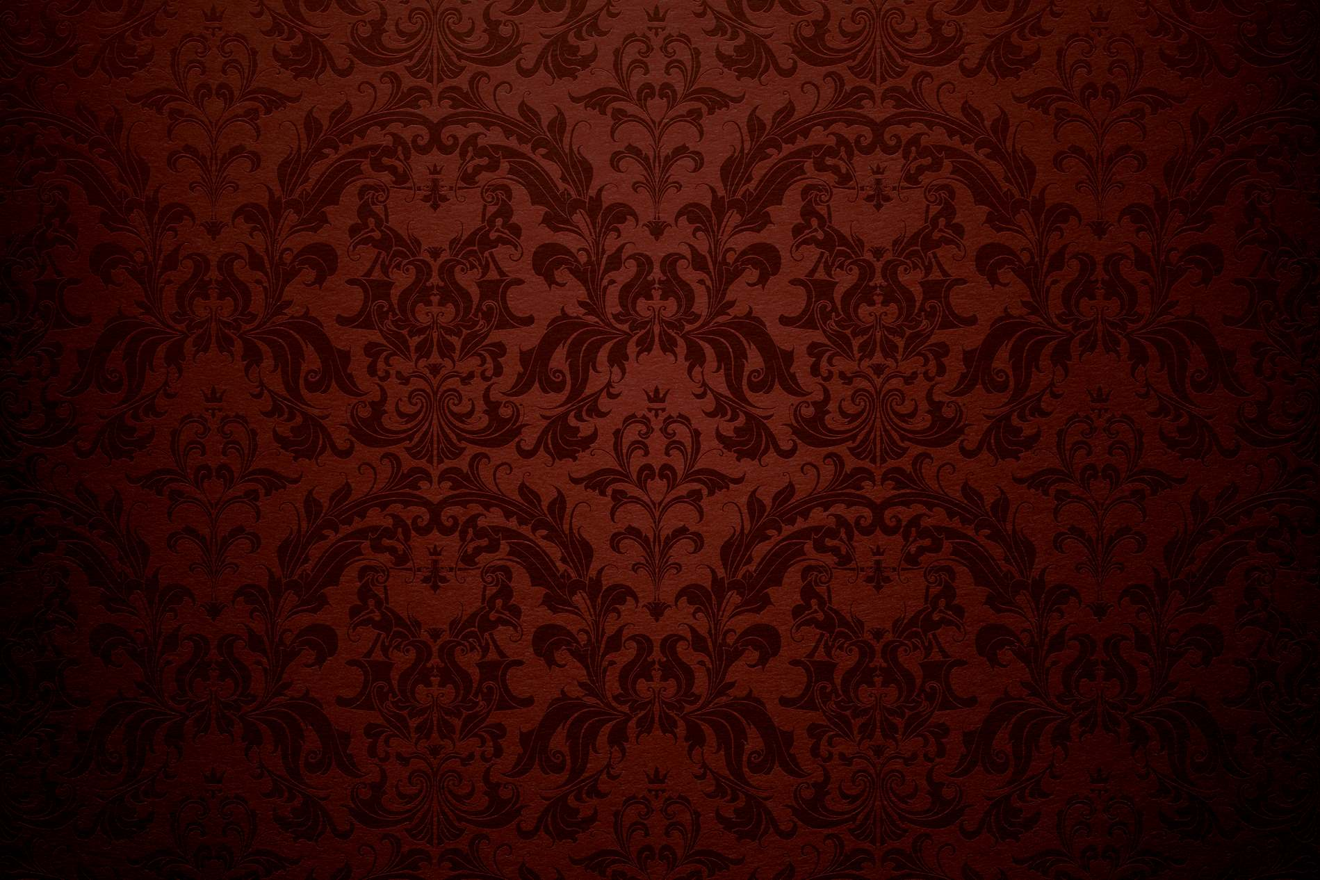Dark red wall damask background photohdx for Red wallpaper designs for walls