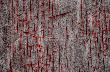 Dark Grungy Texture With Red Cuts