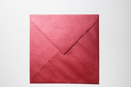 Square Red Paper Envelope