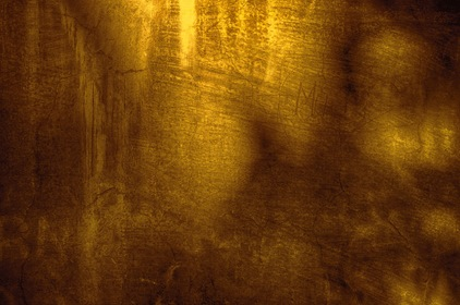 Yellow Brown Old Grungy Wall Texture Background