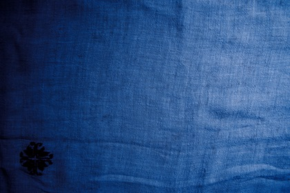 Blue Old Canvas Texture