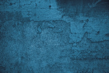 Blue Vintage Wall Texture