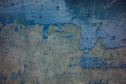 Blue Withered Wall Texture