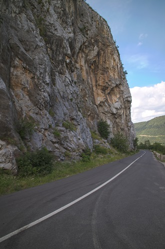 Cliff Side Road