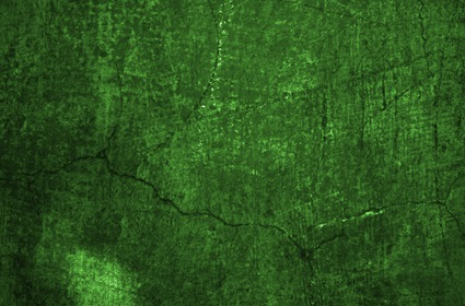 Green Grungy Wall Texture Background