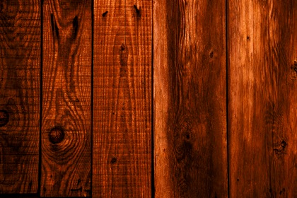 Dark Brown Wood Planks Background