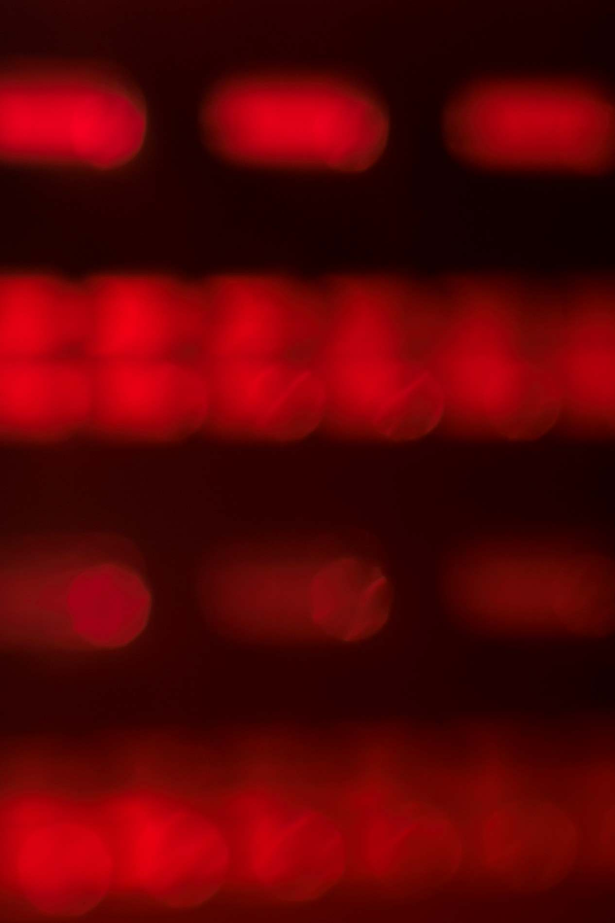 Red Technology Bokeh Background - PhotoHDX