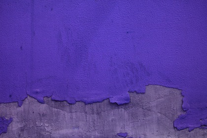 Blue Withered Paint Wall Texture