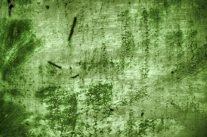 Green Scratched Grungy Background