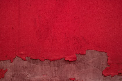 Red Withered Wall Paint Texture