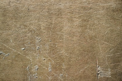 Scratched Gray Concrete Wall