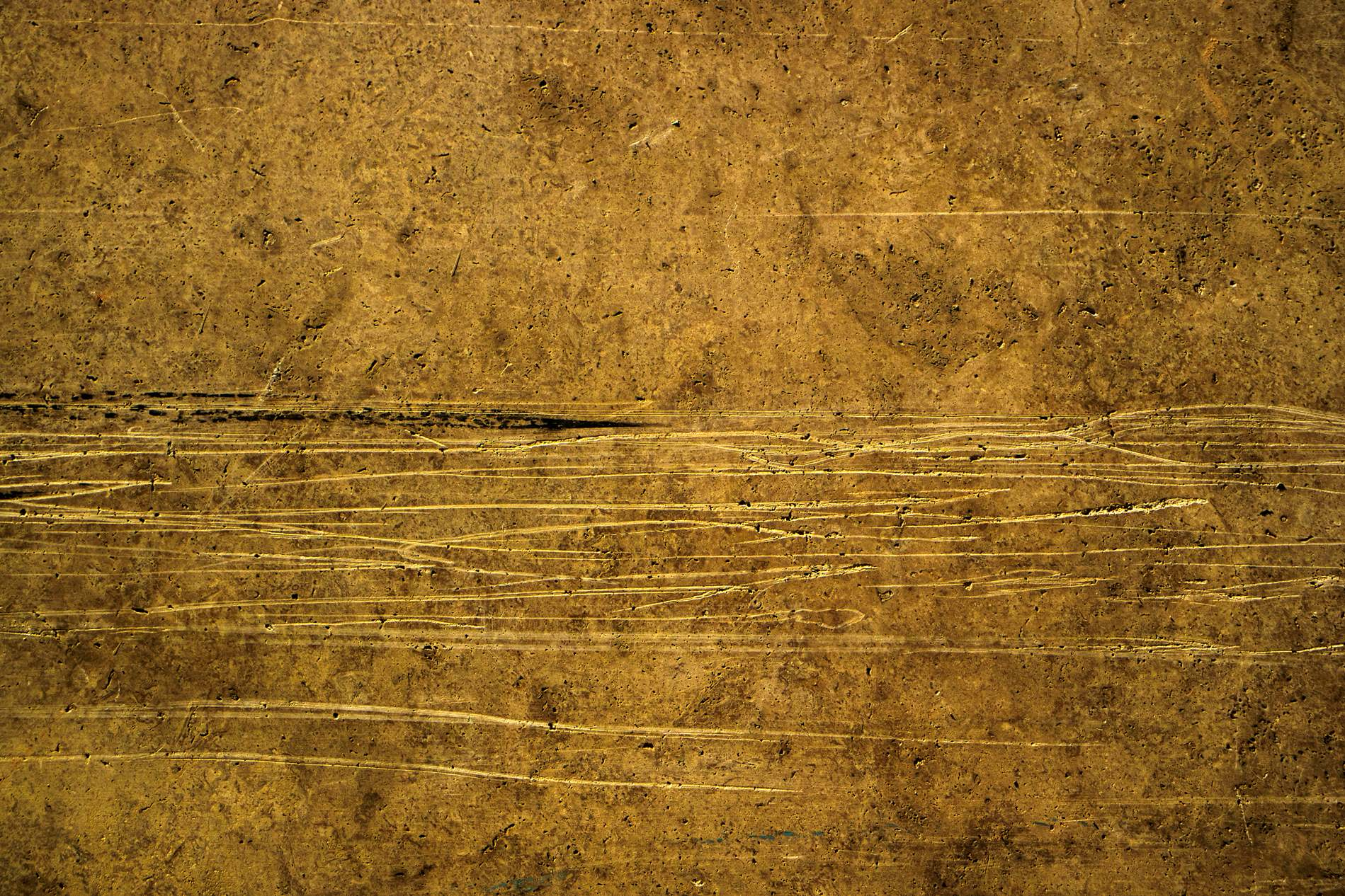 Vintage Yellow Scratched Wall Texture Background Photohdx